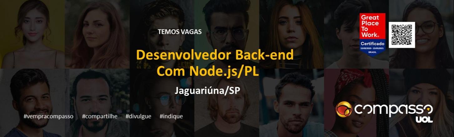 Desenvolvedor Back-end Node.JS PL