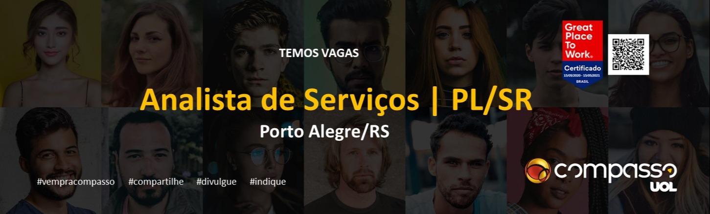 Analista de Serviços PL/SR