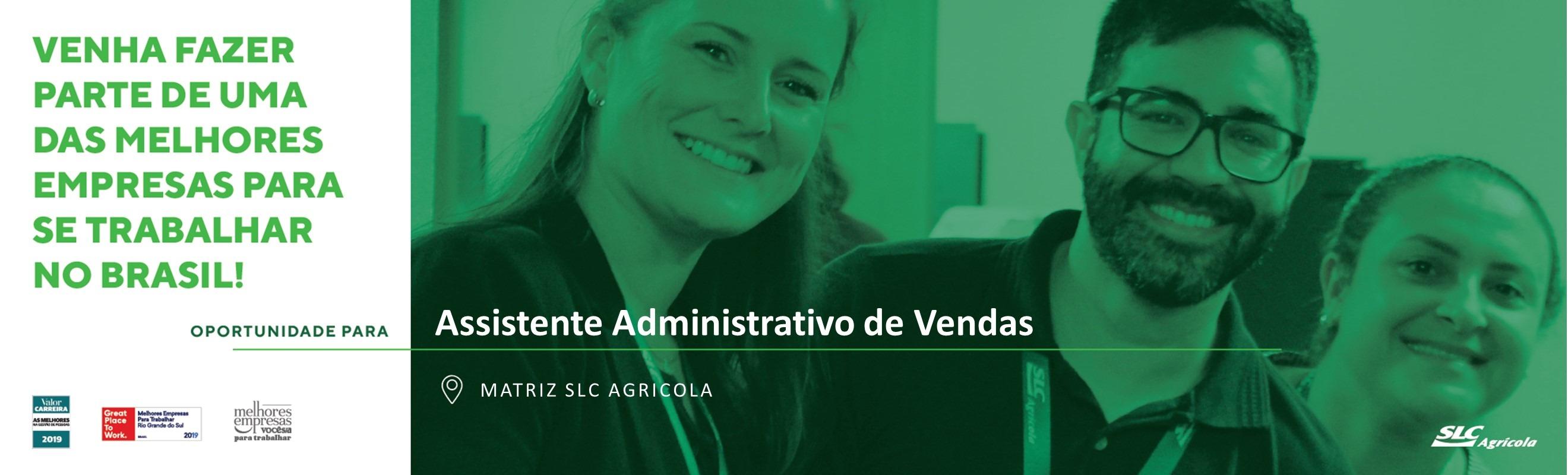 Assistente Administrativo de Vendas