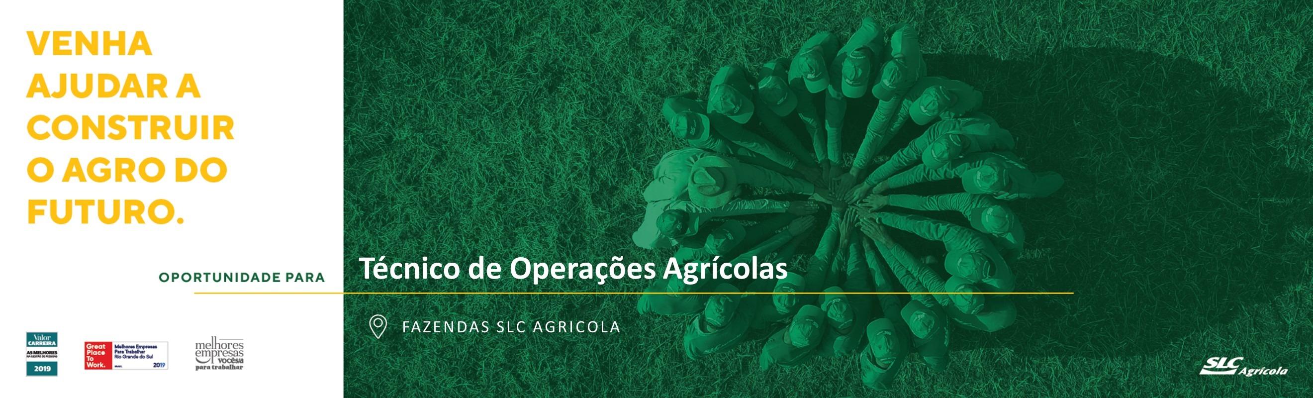 Técnico de Operações Agrícolas