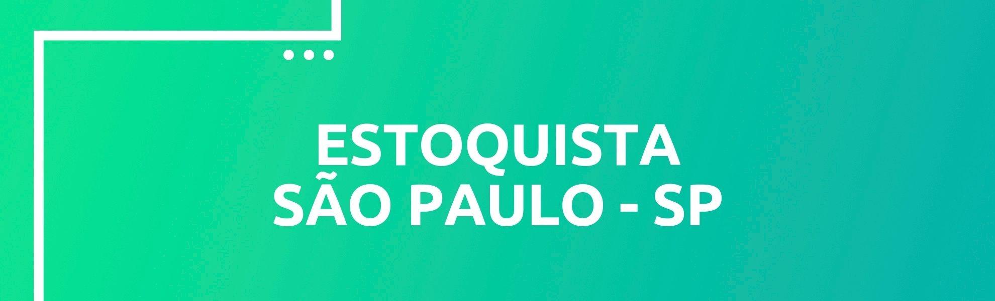 Estoquista - São Paulo
