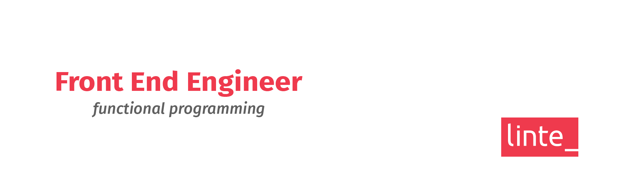 Front End Engineer