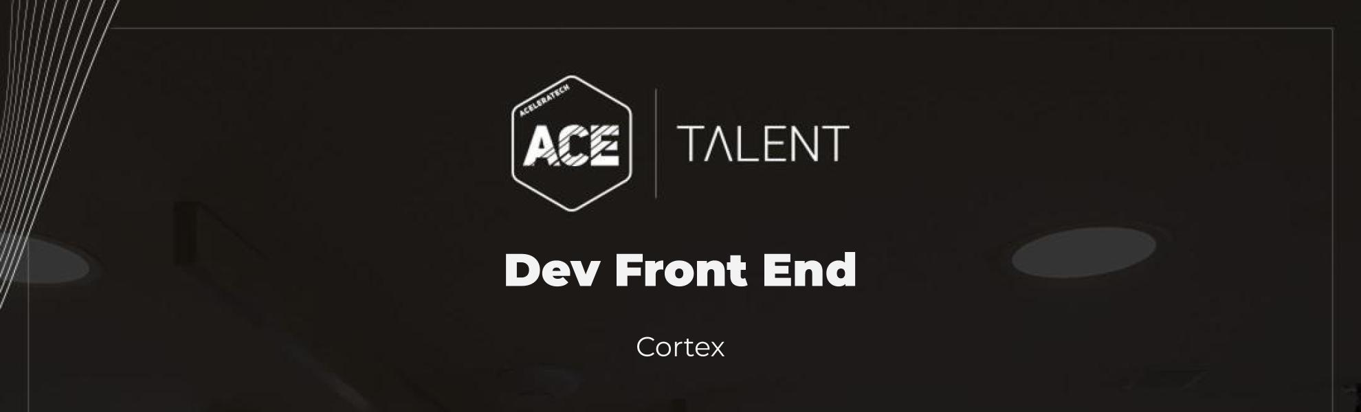 Desenvolvedor (a) Front End