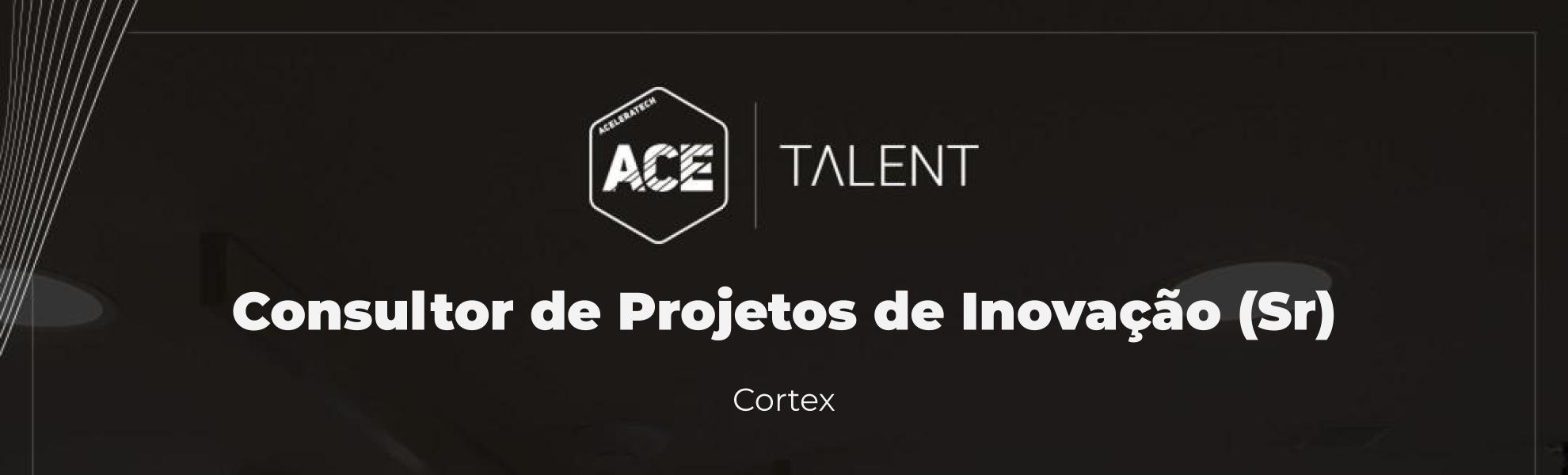 Consultor de Projetos de Inovação (Sr) - Rio de Janeiro