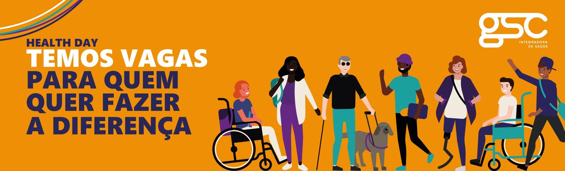 ENFERMEIRO DE GESTÃO DE SAÚDE - TELEMEDICINA / Oportunidades exclusivas para pessoas com deficiência
