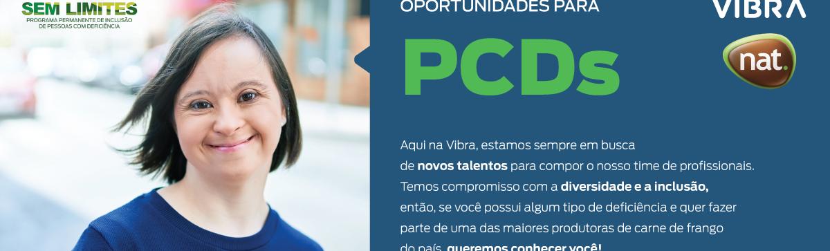 Banco de Talentos VIBRA - Pessoas Com Deficiência  – RS