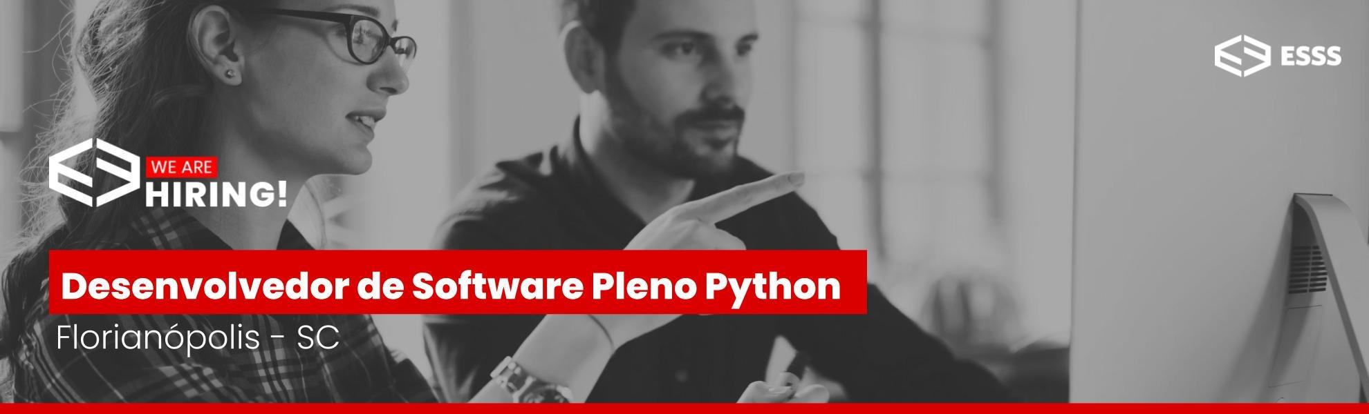 Desenvolvedor de Software Pleno Python