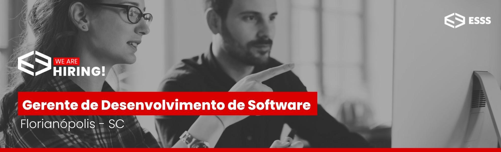 Gerente de Desenvolvimento de Software