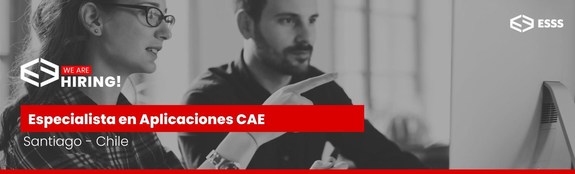 Especialista en Aplicaciones CAE - Chile