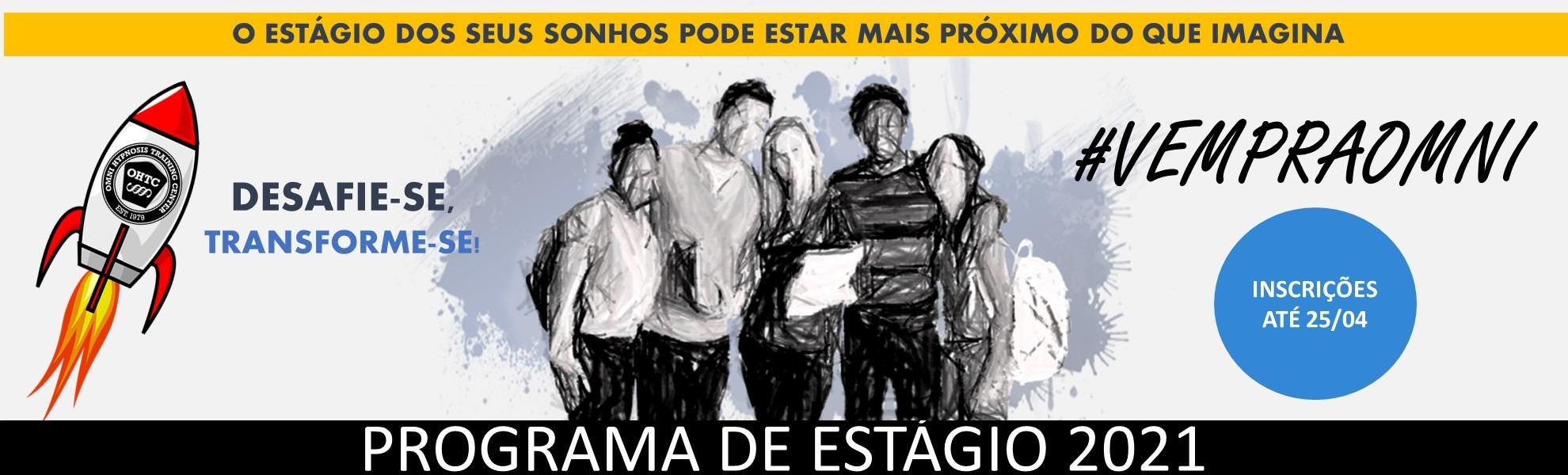 Programa de Estágio 2021 - #vempraomni