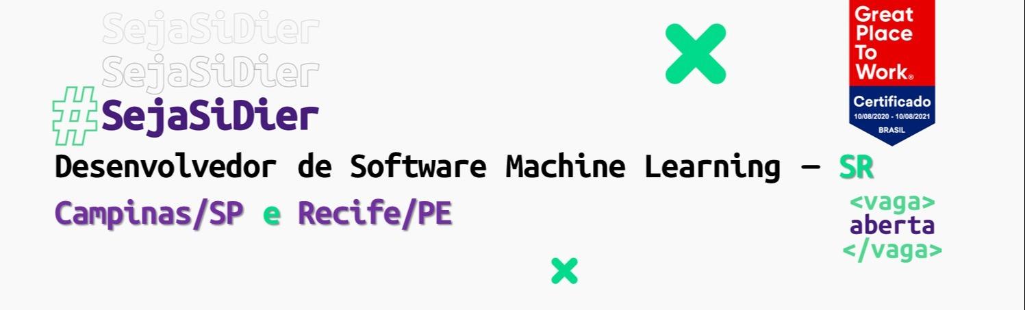 Desenvolvedor Machine Learning SR - (Campinas e Recife)