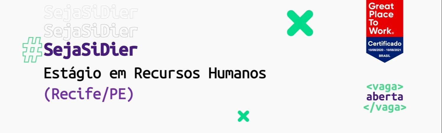 Estágio em Recursos Humanos (Recife/PE)