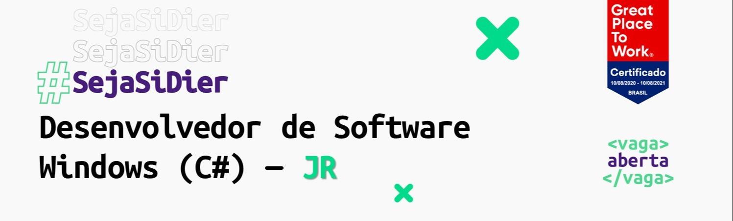 Desenvolvedor de Software Windows (C#) - JR