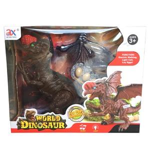 Dinosaurio Con Movimiento y Luces- Pone Huevos