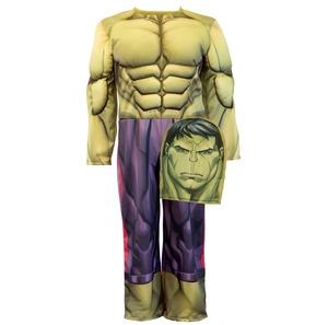 Disfraz Hulk con Musculos Talle 0
