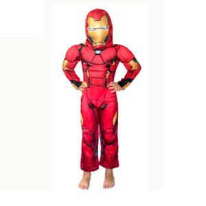 Disfraz Iron Man Con Musculos Talle 0