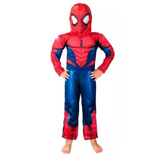 Disfraz Spiderman Clasico Musculoso Talle 0-1