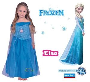 Disfraz Elsa Frozen Talle 2 Original