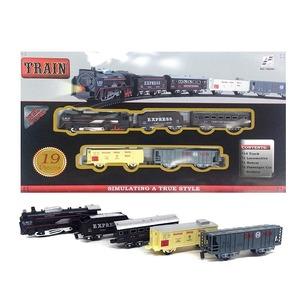 Tren Locomotora con Luces 19 Piezas