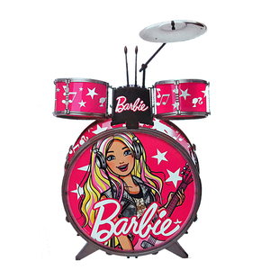Bateria Musical Grande Barbie Original