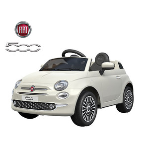 Auto A Batería Fiat 500 Control + Usb + Sd + Luces 12v
