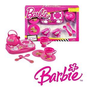 Set Te Barbie Con Anafe y Accesorios