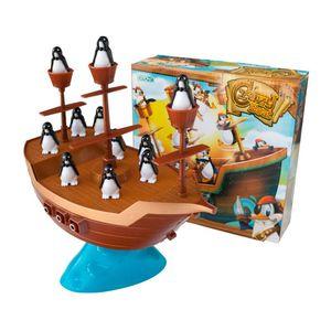 Juego de Mesa Barco Pinguinos Equilibrio Crazy Boat Ditoys
