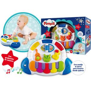Piano Musical Interactivo Instrumentos y Luces