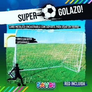Arco de Futbol Caño 150x122x61 Faydi