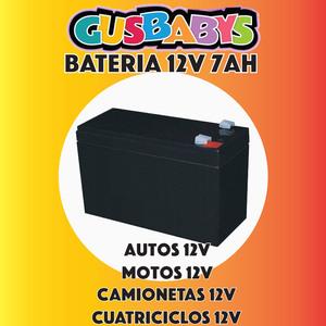 Bateria de Gel 12V 7AH apto para Coches, Camionetas, Cuatriciclos, Motos y Camiones