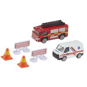 Autos Equipo de Rescate Ambulancia Bomberos