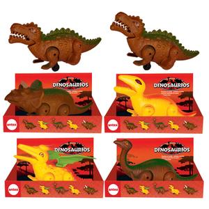 Dinosaurio Camina a Friccion Presiona el Cuello y el Dino Avanzan Antex