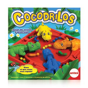 Cocodrilos Juego de acción, el cocodrilo que come mas rapido es el que va a ganar!