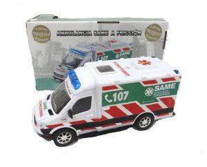 Ambulancia Realista Same Medidas 23 x 11 x 13