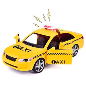 Auto a Fricción Taxi Luces y Sonido 24cm
