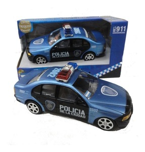 Auto a Fricción Policia de la Ciudad 17 cm