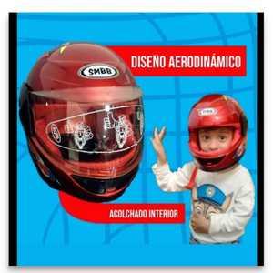 Casco Infantil de Juguete Tipo Moto