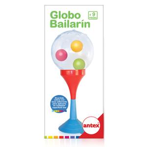 Globo Bailarin con Sopapa y Sonajero