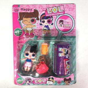 2 Muñecas Tipo Lol Surprise + Accesorios