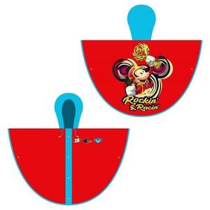 Piloto Capa Mickey Sobre Ruedas Talle 4 Original