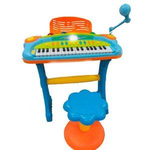 Organo Musical Microfono + Asiento