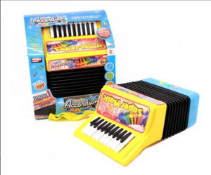 Acordeon Instrumento Musical Juguete Bandoneon Electronico