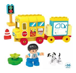 Bloques de Construcción Aventuras en Autobus 41 Piezas