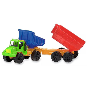 Camión Volcador Duravit Con Acoplado Volcador