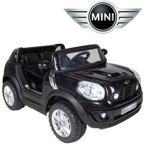 Minicooper Descapotable para 2 Niños con Control Remoto y Mp3