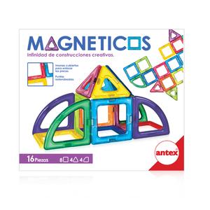 Magnetic 16 Piezas Construcciones Creativas Antex