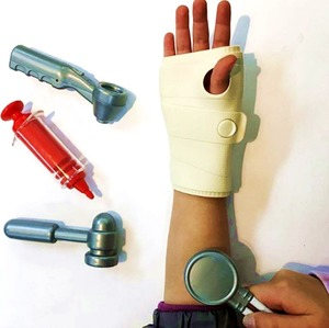 Valija de Doctor con Yeso, Vacuna y Suero Niños