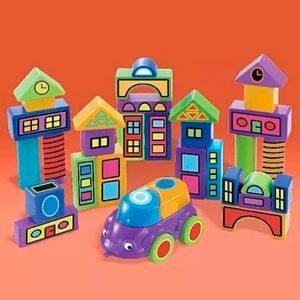 Bloques Serie Blokas Ciudad 30 Bloques Multicolores