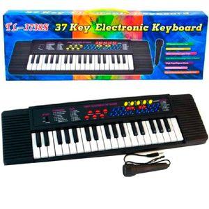 Organo con Microfono Varias melodías y Sonidos reales 75 cm