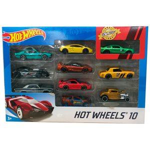 Autos Hot Wheels Pack x10 Surtidos